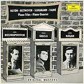 Original Masters - Haydn, Beethoven, Schumann, Faur&eacute;: Piano Trios, Piano Quartet / Rostropovitch, Gilels, Kogan