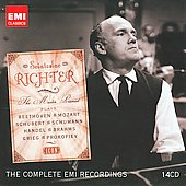 Icon - Sviatoslav Richter - Handel, Schumann, Beethoven, Mozart, Grieg, Prokofiev, etc