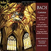 Bach: Cantatas BWV 54, 169, 170 / King, Bowman