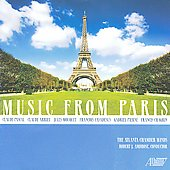 Music from Paris - Pascal, Arrieu, Mouquet, Casadesus, Pierné, Chagrin / Ambrose, Atlanta Chamber Winds