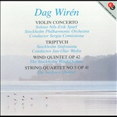 Dag Wir&eacute;n: Violin Concerto; Triptych; Wind Quintet, Op. 42; String Quartet No. 5, Op. 41