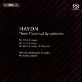 Haydn: Three Theatrical Symphonies
