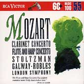 Basic 100 Vol 55 - Mozart: Clarinet Concerto, etc /Stoltzman