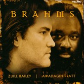 Brahms Works for Cello & Piano / Zuill Bailey