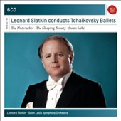 Leonard Slatkin Conducts Tchaikovsky Ballets - The Nutcracker; The Sleeping Beauty; Swan Lake [6 CDs]