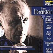 Jascha Horenstein conducts Mozart: Symphonies nos 38, 39 & 41; Mass in C,