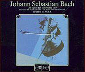 Bach: The Suites for Violincello solo / Julius Berger