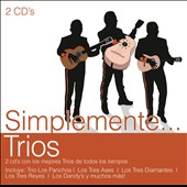 Various Artists: Simplemente Trios [Sony]