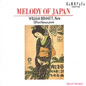 Melody of Japan / William Bennett, Clifford Benson