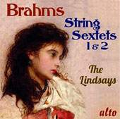 Brahms: String Sextets Nos. 1 & 2 / The Lindsays; Louise Williams, viola; Paul Watkins, cello
