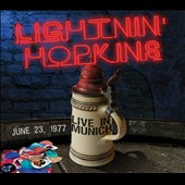 Lightnin' Hopkins: Live in Munich June 23, 1977 *