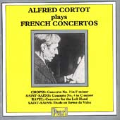 Alfred Cortot plays French Concertos - Chopin, Ravel, et al