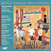 Bozza, Lopatnikoff, et al / DePaul University Wind Ensemble