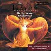 Haydn: Heiligmesse, etc / Hickox, Collegium Musicum 90