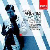 Haydn: Piano Concertos no 3, 4 & 11 / Andsnes, Norwegian CO