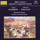 Barrios, Infante: Music for Piano / Eugenia Gabrieluk