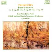 Prokofiev: Piano Concertos 1, 3 & 4 / Paik, Wit, Polish RSO