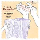 Poem Harmonica / Joe Sakimoto, Mie Miki