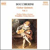 Boccherini: Guitar Quintets Vol 2 / Tokos, Danubius Quartet