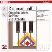 Rachmaninov: Complete Works for Piano & Orchestra / Orozco