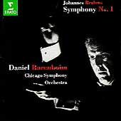 Brahms: Symphony no 1 / Barenboim, Chicago SO