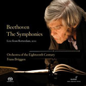 Beethoven: The 9 Symphonies / Bruggen, Orch. of the 18th Century