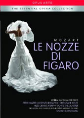 Mozart: The Marriage of Figaro / Peter Mattei, Lorenzo Regazzo, Christiane Oelze, Heidi Grant Murphy, Christine Schafer. Paris Opera. Sylvain Cambreling [DVD]