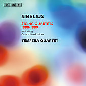 Sibelius: String Quartets 1888-89 / Tempera String Quartet