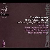 Gentlemen of the Chapel Royal / Peter Dijkstra, The Gents