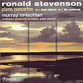 Stevenson: Piano Concertos 1 & 2 / McLachlan, Clayton