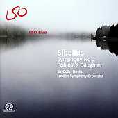 Sibelius: Symphony no 2, etc / Davis, London SO