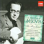 Icon - Andrés Segovia - The Master Guitarist Plays Albéniz, Bach, Castelnuovo-Tedesco, et al