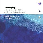 Mussorgsky: Pictures at an Exhibition, A Night on the Bare Mountain / Dohnányi, Cleveland Orchestra