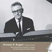 Koppel: Piano Concertos no 1 & 2, Visions fugitives, etc / Koppel, Wellejus, et al