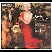 Bach: Aus der Tiefe BWV 745, etc / Pierlot, Fuge, Mena, Mammel, MacLeod, Ricercar Consort