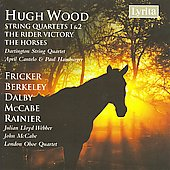 Wood: String Quartets 1 & 2, etc;  Fricker, Berkeley, Dalby, McCabe, Rainier / Cantelo, Hamburger, Lloyd Webber, et al