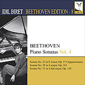 Beethoven Edition Vol 8 - Piano Sonatas Vol 4 / Idil Biret