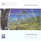 Richard Mills (b.1949): Concerto for cello; Concerto for violin; Concerto for violin & cello