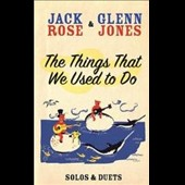Glenn Jones (R&B)/Jack Rose: The  Things That We Used to Do [DVD]