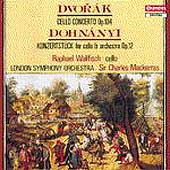 Dvorak, Dohnanyi: Cello Concertos / Wallfisch, Mackerras