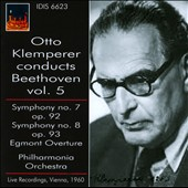Otto Klemperer conducts Beethoven, Vol. 5: Symphonies nos 7 & 8