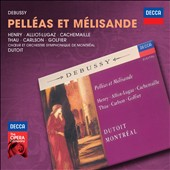 Debussy: Pell&eacute;as et M&eacute;lisande / Alliot-Lugaz, Henry, Cachemaille, Thau, Carlson, Golfier