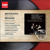 Beethoven: Triple Concerto; Brahms: Double Concerto / Oistrakh, Rostropvich, Richter