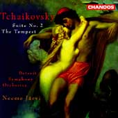 Tchaikovsky: Suite no 2, etc / Neeme Järvi, Detroit SO