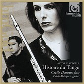 Astor Piazzolla: Histoire du Tango / Cecile Daroux, flute; Pablo Marquez, guitar