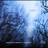 Rachmaninov: Trio Elegiaque no 1; Babajanian: Piano Trio in F-sharp minor; Shostakovich: Piano Trio no 2 / New Zealand Chamber Soloists