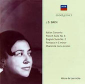 J.S. Bach: Italian Concerto; French Suite No. 6; English Suite No. 2