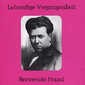 Lebendige Vergangenheit - Benvenuto Franci