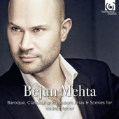 Baroque, Classical and Modern Arias & Scenes for Countertenor - 3 complete albums: Ombra cara, Che puro ciel and Down by the Salley Gardens / Bejun Mehta