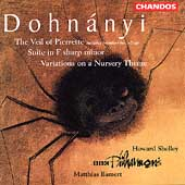 Dohn&aacute;nyi: Veil of Pierrette, Variations, etc / Bamert, et al